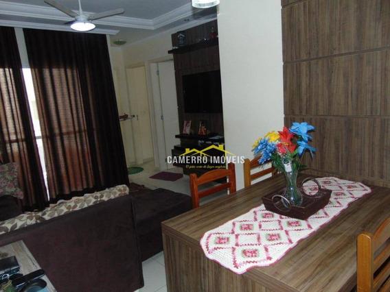 Apartamento Com 2 Dormitórios À Venda, 52 M² Por R$ 185.000 - Parque Planalto - Santa Bárbara D