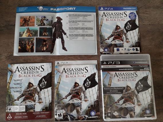( Frete R$ 9.90) Assassins Creed 4 Black Flag Português Ps3