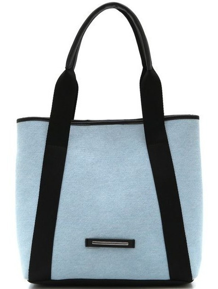 Bolsa Colcci Lisa Azul Casual Lançamento Original Frt Grátis