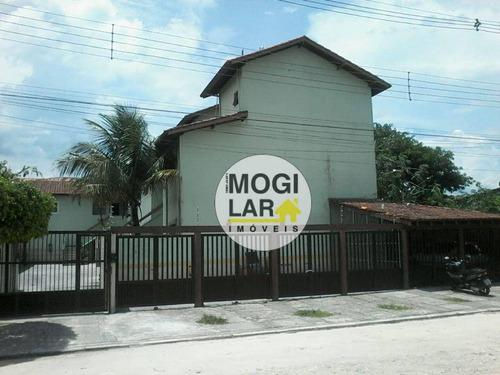 Apartamento Com 2 Dormitórios À Venda, 64 M² Por R$ 256.000,00 - Maitinga - Bertioga/sp - Ap0496