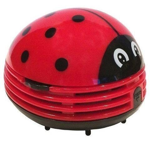 Crumby Mini Aspiradora Portátil Inalámbrica - Lady Bug Trg