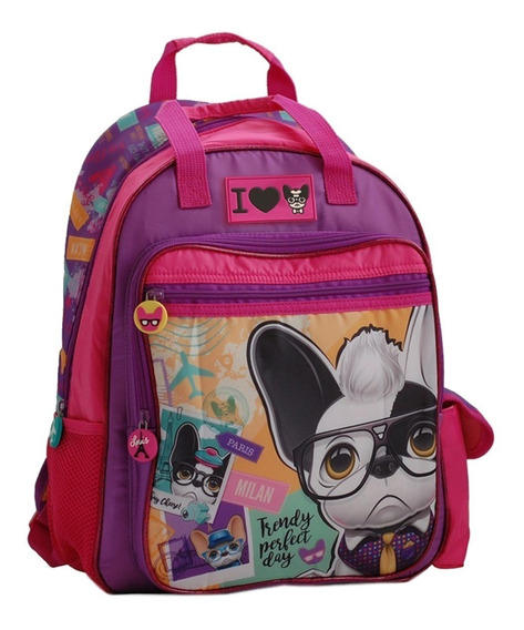 Mochila Escolar Espalda Trendy Dogs 97632 16