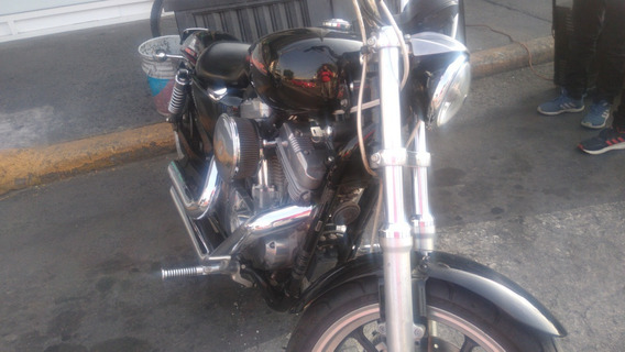 Harley Sportster 883-12 Accesorios: Escapes, Mandos, Fairing