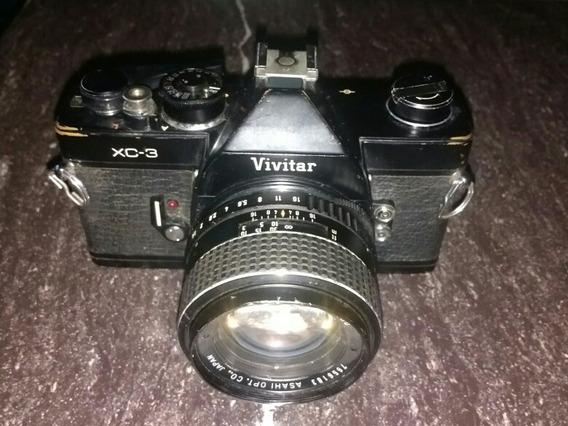 Cámara Vintage Profesional Vivitar Xc-3