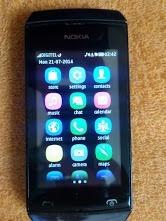 Celular Nokia Asha 306 Con Tactil Movido.