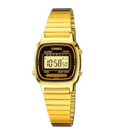 Relógio Casio Vintage Feminino La670wga-1