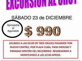 Excursión Al Chuy Sábado 23 De Diciembre