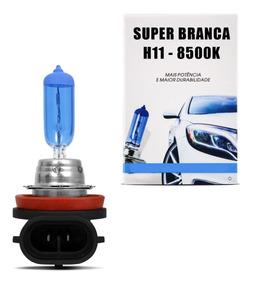 Lampada Super Branca H11 8500k 55w 12v