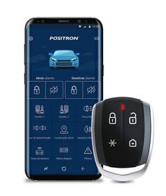Novo Cyber Px 360bt Alarme Automotivo Controle Smartphone