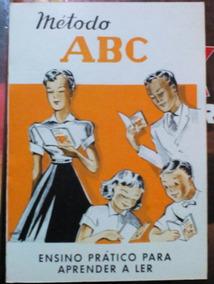 Cartilha Método Abc (antigo Material Escolar Anos 70) Me