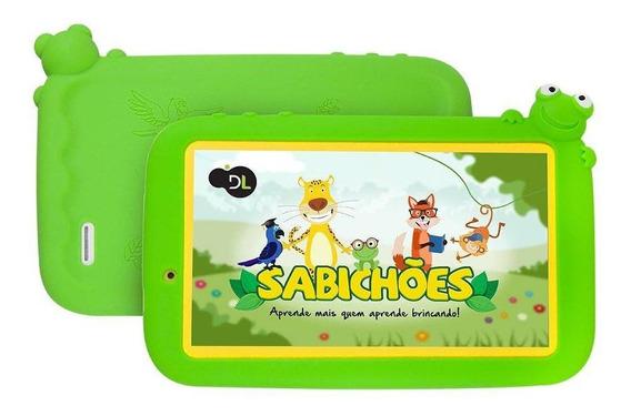 Tablet Dl Sabichões Tx386bvd Branco Verde