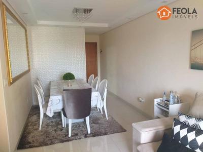 Lindo E Mobiliado! Apartamento Com 2 Dormitórios Para Alugar, 75 M² Por R$ 2.000/mês - Vila Santa Catarina - Americana/sp - Ap0337