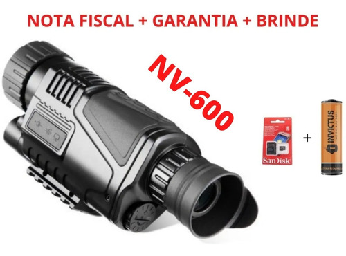 Imagem 1 de 10 de Night Vision Nv600 Câmera Digital Infravermelha + Bateria