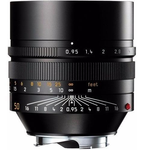 Leica Lente Asph Noctilux-m 50mm F/0.95 (preta E Prata)