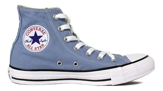 Tenis Converse All Starr Azul Jeans Bota Frete Grátis