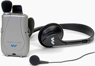 Williams Sound Pkt D1 Eh Pocketalker Amplificador Ultra Duo