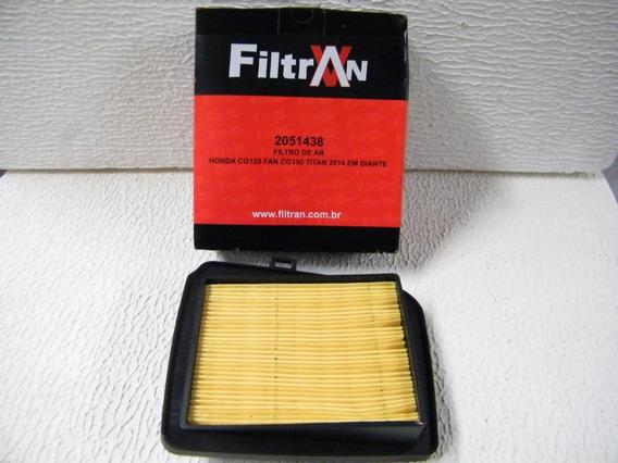 Filtro De Ar Cg 125 Fan Cg 150 2013/2014- Filtran 2051438