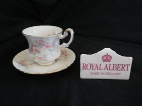 Royal Albert Xícara E Píres De Café Spring Ballet - England