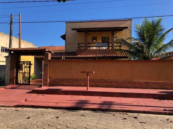 Sobrado Com 4 Dormitórios- Vista Para O Mar Em Itanhaém/sp