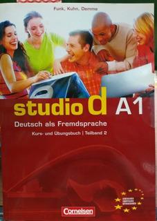 Studio D A1 - Kurs - Und Ubungsbuch Teilband 2 - Con Cd