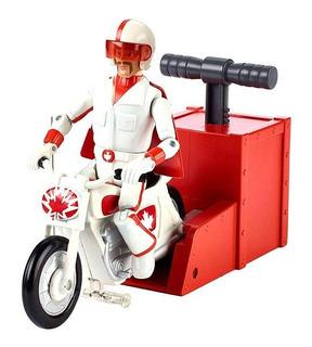 Toy Story 4 Duke Caboom Com Moto - Mattel