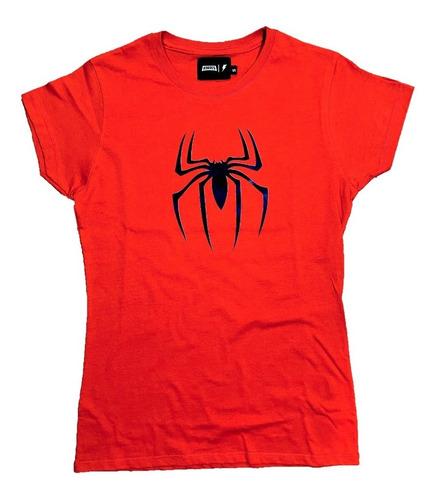 Imagen 1 de 2 de Playera Spiderman Mujer Marvel Super Heroes