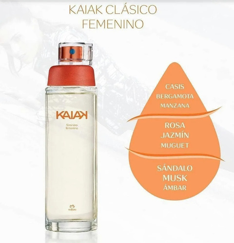Kaiak Femenino Natura 100ml