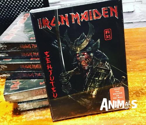 Imagen 1 de 3 de Iron Maiden Senjutsu 2 Cd Book Importado Nuevo Original