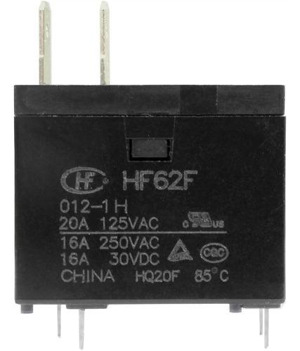 Imagem 1 de 3 de Relé Micro-ondas Hf Hongfa Hf-62f 012-1h(555) 16a 20a