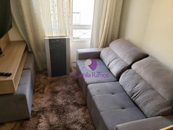 Apartamento Mobiliado, 02 Dormitórios À Venda E Locação - Vila Urupês - Suzano - Ap0708
