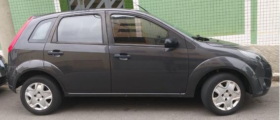 Ford Fiesta Hatch 1.0 Flex Completo Ar + Dh Com Manuais