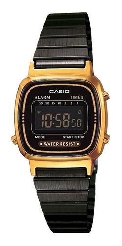 Reloj Mujer Casio La670wegb-1b Digital / Lhua Store