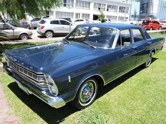 Ford Galaxie 500 1968 Completamente Original Placa Preta