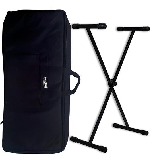 Capa Teclado Bag Luxo Com Alça Reforçada + Suporte Promoção!