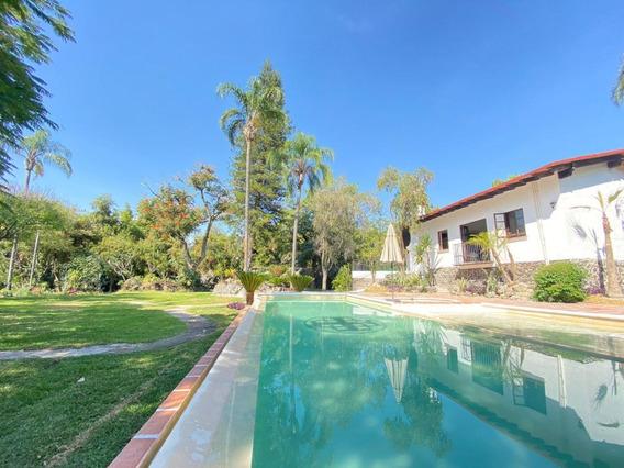 Casa Sola En Pedregal De Las Fuentes / Jiutepec - Via-587-cs