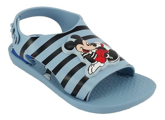 Sandália Infantil Bebê Love Disney Mickey Ipanema Promoção