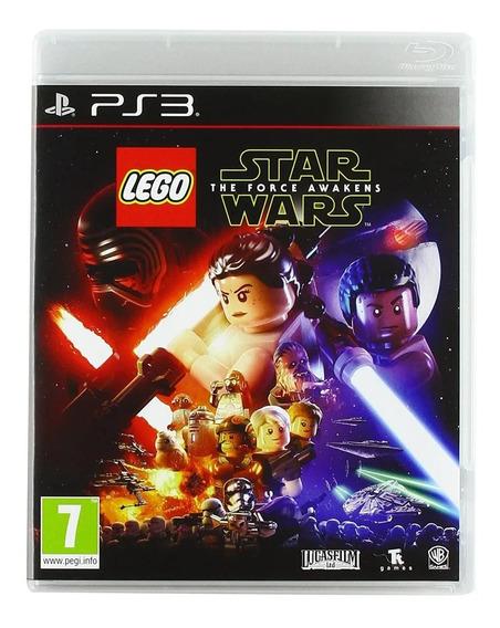 Jogo Lego Star Wars The Force Awakens Ps3 Lacrado Fisica