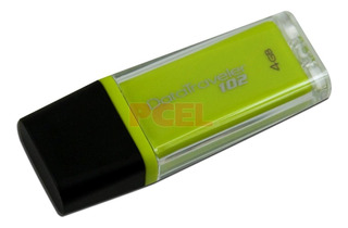 Pendrive 4gb 2.0 Kingston Mini Fun/ Dt 102 Descuento X Mayor
