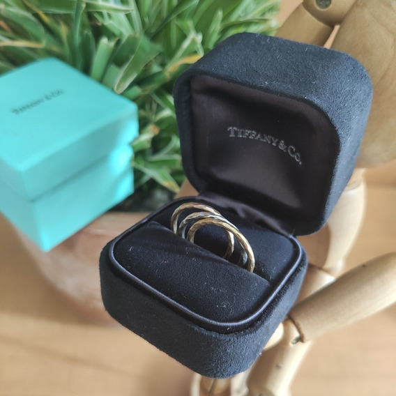 Anel Triplo Aliança Tiffany And Co