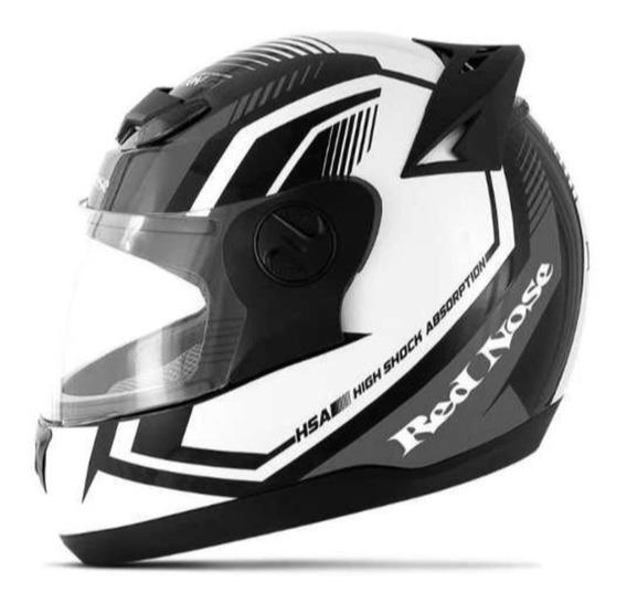 Capacete Motociclista 788 G6 Red Nose Fosco Várias Cores