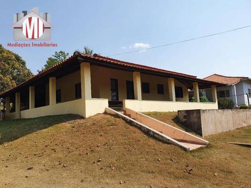 Linda Chácara Com 3 Dormitórios, Horta E Pomar Formado, Campinho, À Venda, 2591 M² Por R$ 380.000 - Zona Rural - Pinhalzinho/sp - Ch0759