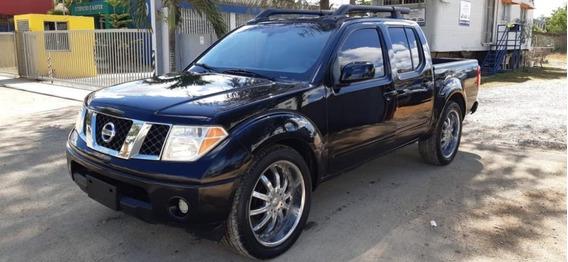 Nissan Frontier 2006 Negra, En Excelentes Condiciones