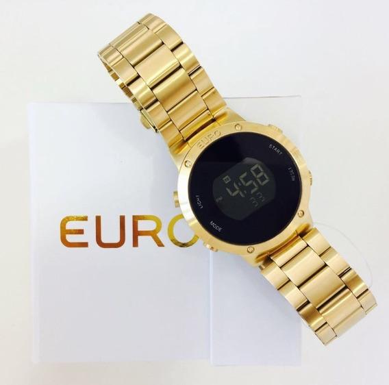 Relógio Euro Feminino Digital Eubj3279aa/4d - Dourado