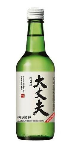 Bebida Alcoólica Coreana Soju Premium Dae Jang Bu 100% Arroz