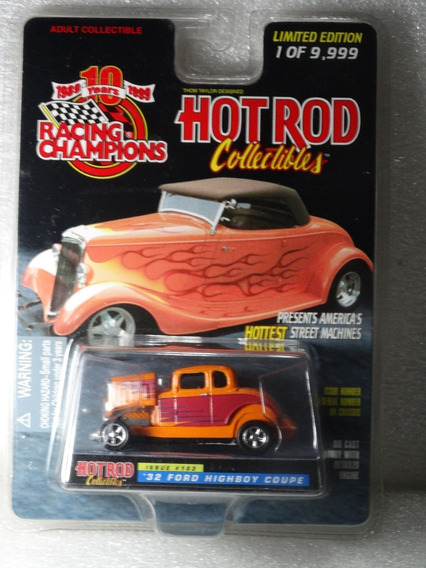 32 Ford Highboy Coupe Hot Rod Racing Champions 1:64