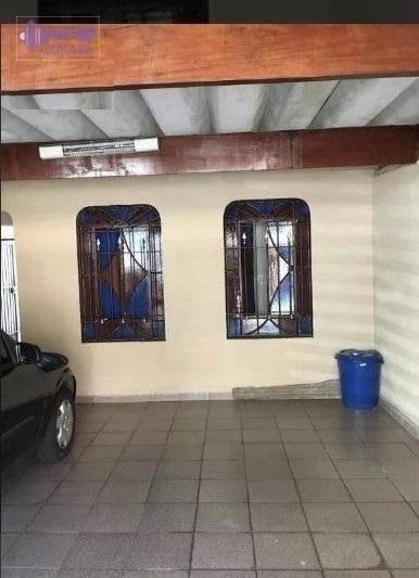 Casa Com 3 Dormitórios À Venda, 146 M² Por R$ 440.000 - Jardim Das Maravilhas - Santo André/sp - Ca0233