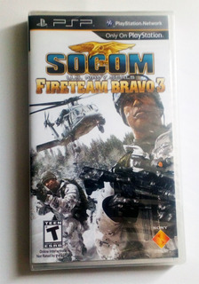 Socom Fireteam Bravo 3 Psp Nuevo