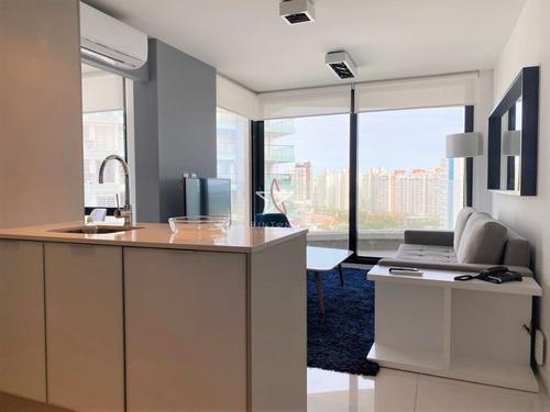 Apartamento, 1 Dorm Y Medio, Aidy Grill, Punta Del Este, Alquiler- Ref: 1075