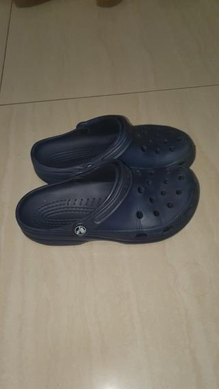 Crocs Azules N39