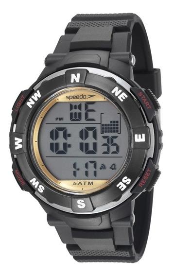 Relógio Speedo Masculino Preto 81165g0evnp2 1 Ano